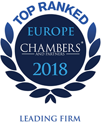 Advocates Bureau Yug Ranked in Chambers Europe 2018